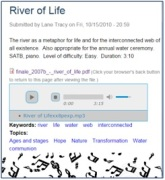 River of Life - Lane Tracy